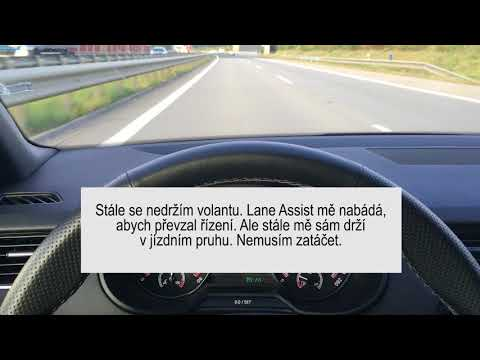 Škoda Octavia - adaptivní tempomat + lane assist