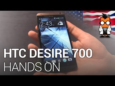 HTC Desire 700 Hands On - 5-inch Dual SIM Midrange Android-Smartphone
