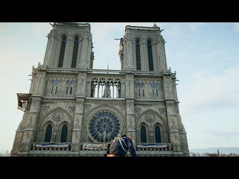 Exploring Notre Dame - Assassin's Creed Unity