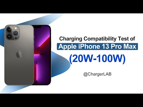 Up to 27W | Charging Compatibility Test of Apple iPhone 13 Pro Max (20W-100W)
