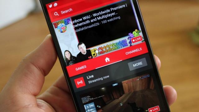 Android se dočká podpory přímého streamování her na YouTube
