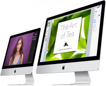 """Apple představil nové iMacy: 21,5"""" se 4k displejem a 27"""" s 5k panelem. Známe české ceny"""