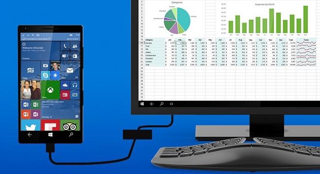 Continuum pro Windows 10 Mobile se brzy naučí používat vzdálenou plochu