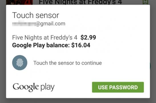 Google Play se dočkal vylepšení: Na Androidu 6.0 Marshmallow ověříte nákupy otiskem prstu