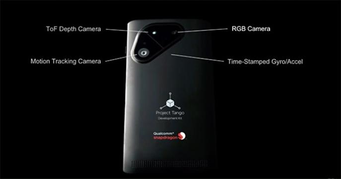 Google s Qualcommem připravují referenční smartphone v rámci projektu Tango