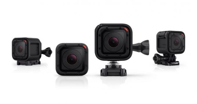 GoPro Hero 4 Session: Miniaturní kamera pro všechny fanoušky adrenalinových sportů