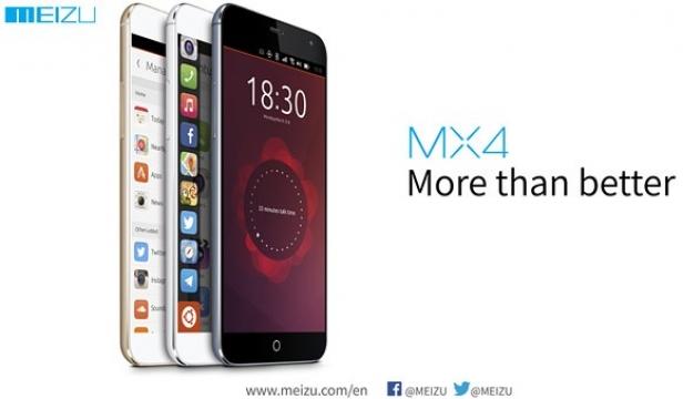Potvrzeno: Meizu na MWC ukáže MX4 s Ubuntu