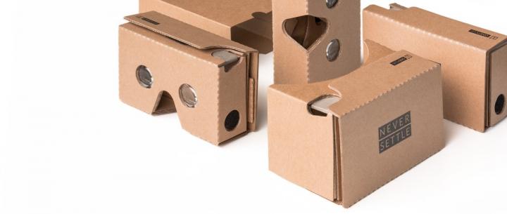 Připravte se na premiéru OnePlus 2: Výrobce rozdává zdarma Cardboard VR, zaplatíte jen poštovné