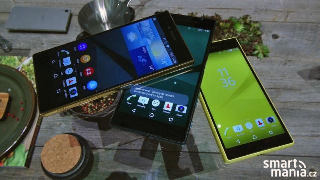 Sony Xperia Z5, Z5 Compact a Z5 Premium: Přehled cen ve vybraných zemích Evropy