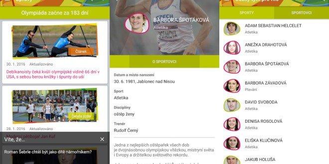 LOH 2016: T-Mobile představil novou aplikaci pro sledování letní olympiády