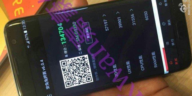 Samsung Galaxy S7 edge v AnTuTu získal přes 130 000 bodů. Podívejte se na první fotografii