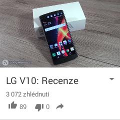 Sledování videa na YouTube