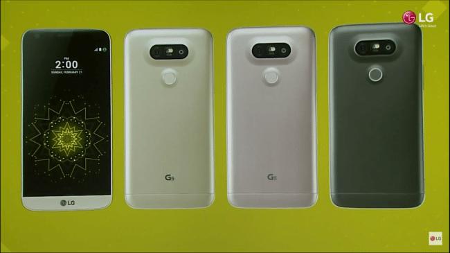 g5 colors