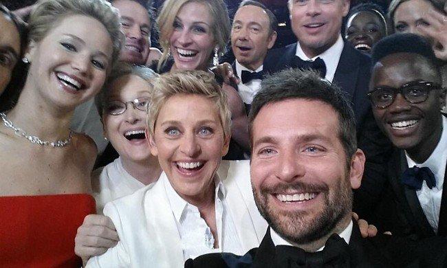Oscars selfie