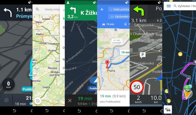 nejlepší navigace