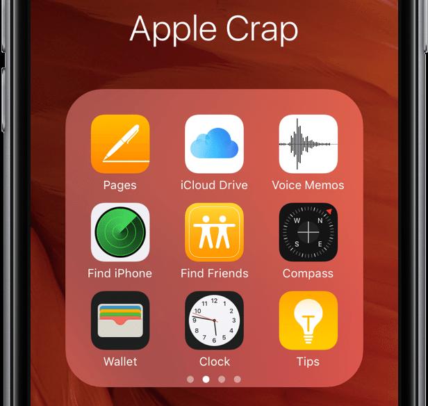 Apple-Crap-folder