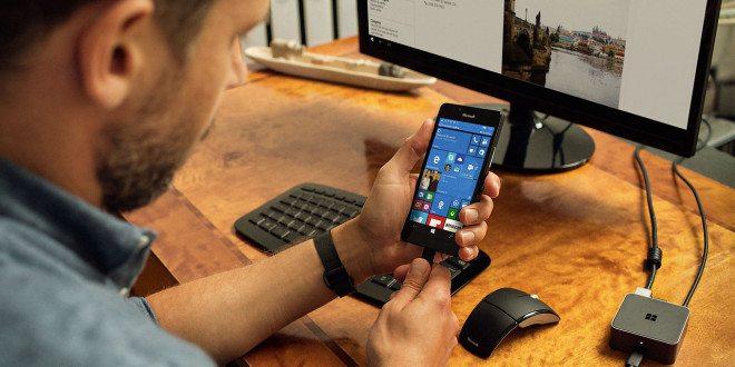 Continuum 2.0: Microsoft ukázal novinky zpříštího updatu Windows 10 Mobile na videu