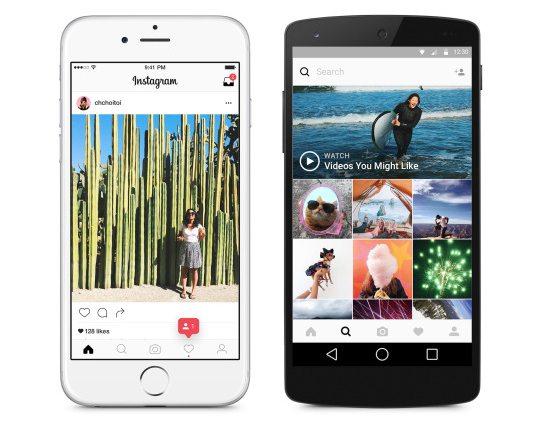 Instagram-redesign