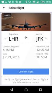 Android Flight Tracker 2