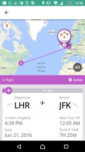 Android Flight Tracker 4