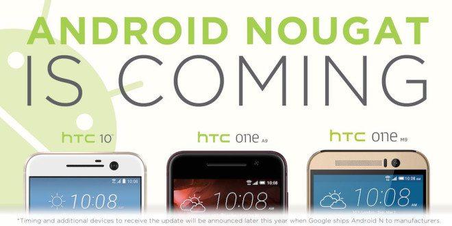 HTC a Nougat: Víme, kdy a na které modely dorazí aktualizace