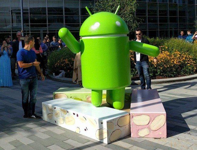 Socha Androidu Nougat