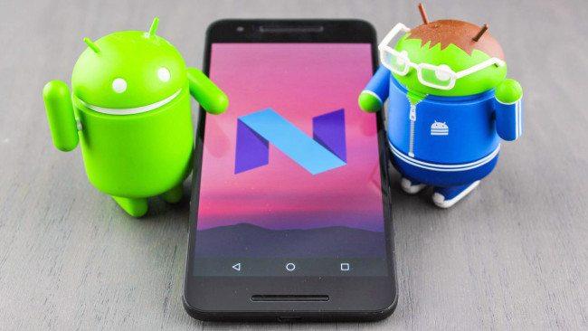 Android 7.0 Nougat Nexus 5X