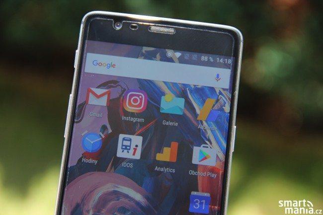 OnePlus 3 displej