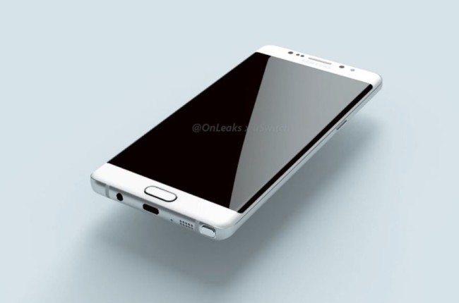 Starší render, který má odhalovat možnou podobu Galaxy Note 7