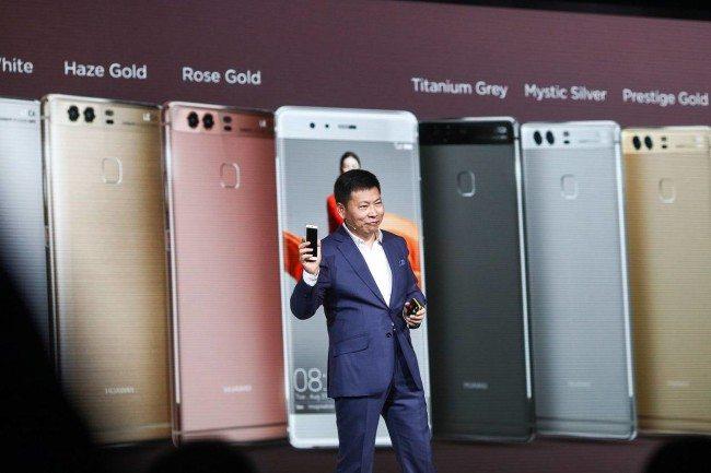 Richard Yu představuje Huawei P9 s duálním fotoaparátem Leica