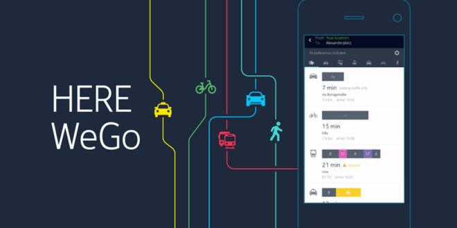 HERE WeGo: Mobilní navigace má nové jméno a přidává spoustu novinek