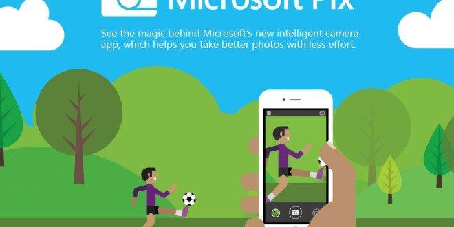 Microsoft Pix Camera: Fotoaplikace pro iOS sprvky umělé inteligence