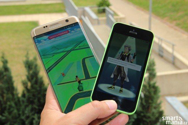 Pokémon GO na Androidu a iOS