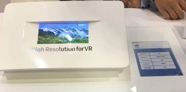 """5,5"""" 4K displej, který se skvěle hodí pro virtuální realitu"""