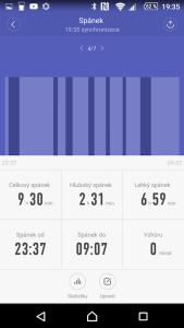 Statistika spánku