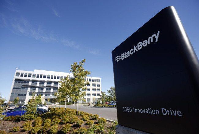 Blackberry reports huge Q3 loss