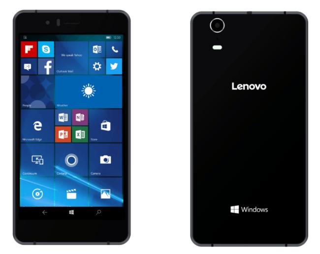 SoftBank 503LV: Jediný telefon s Windows od Lenova