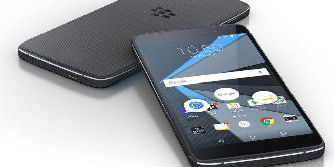 BlackBerry DTEK50 odhalen: Symetrický oblázek zdílny Alcatelu