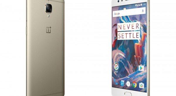 Zlatá varianta OnePlus 3 míří na trh: Víme, kdy se začne prodávat