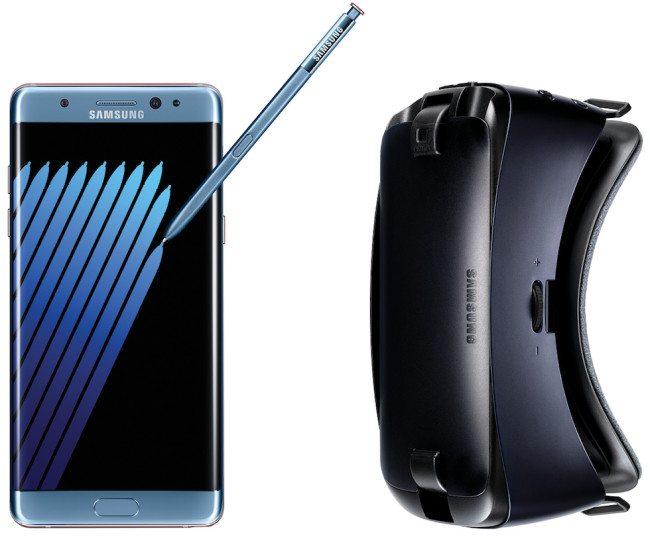 V rámci předobjednávek dostanete ke Galaxy Note7 dárek v podobně virtuální reality