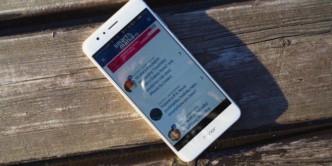 Honor 8 dostává aktualizaci na Android 7.0