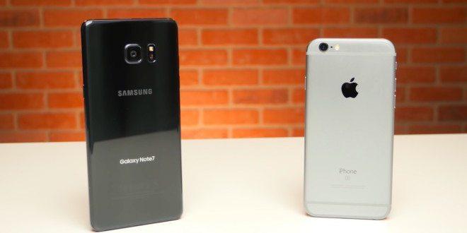 Rok starý iPhone 6s vs. Galaxy Note7 v testu rychlosti: Kdo s koho?