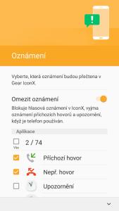Nastavení notifikací