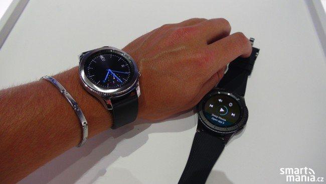 Samsung Gear S3 oficiálně: Chytré hodinky s Tizenem, GPS a skvělou výbavou