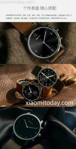 Údajná podoba prvních hodinek od Meizu