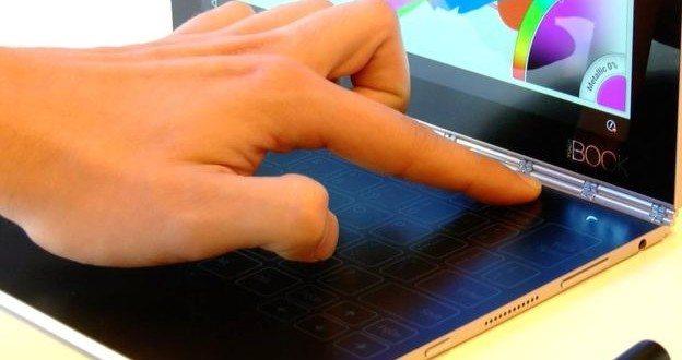 Lenovo Yoga Book: Malý notebook s dotykovou plochou místo klávesnice
