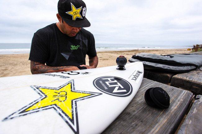 360fly Lifestyle Sunny Garcia Surfboard 3