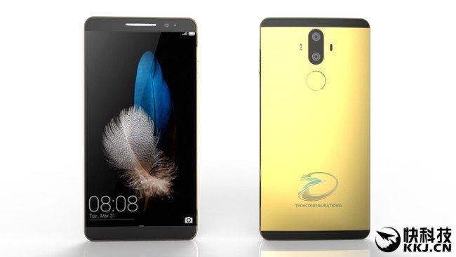 Takto by měl Huawei Mate 9 údajně vypadat