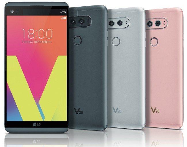 LG V20 na oficiálních snímících