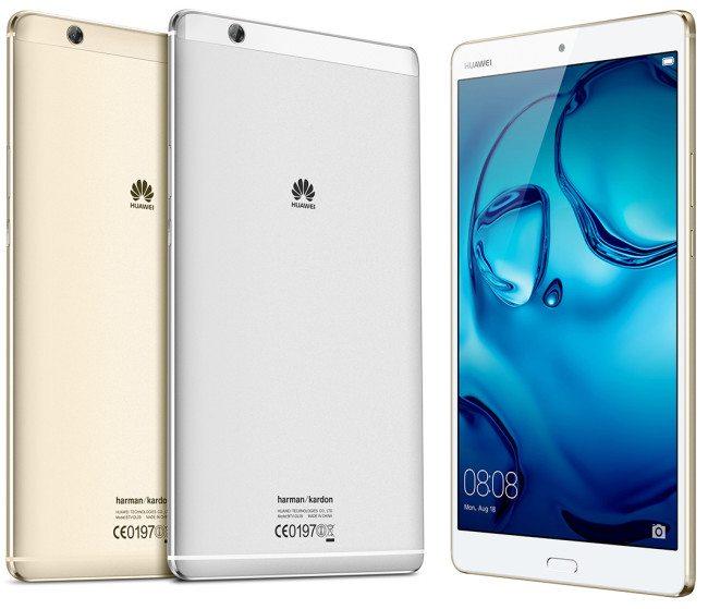Huawei MediaPad M3 bude dostupný ve dvou barevných variantách
